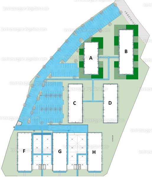Tavirózsa Lakópark VI. ütem - 2 szoba erkéllyel