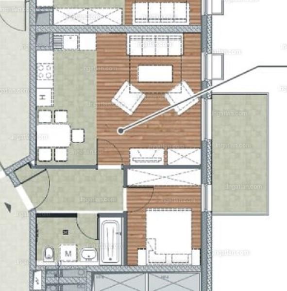Ha11er - 1 + 1 szoba erkéllyel