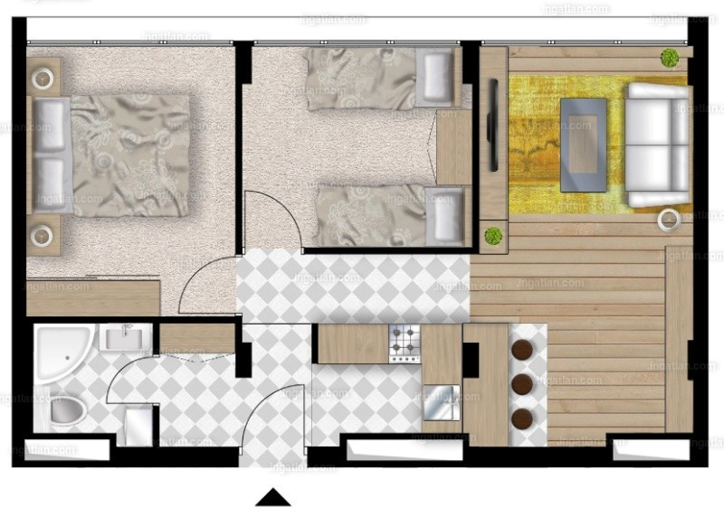 UniparkBuda - 3 szoba