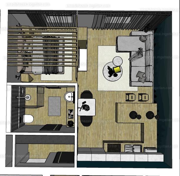 Amadé Házak - 1 szoba