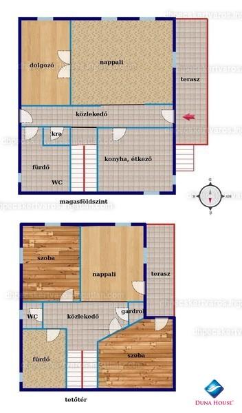 Ingatlan, eladó ház, Pécs, Tető út, 254 m2