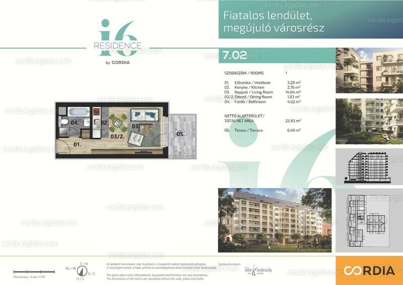i6 Residence by Cordia - 1 szoba erkéllyel