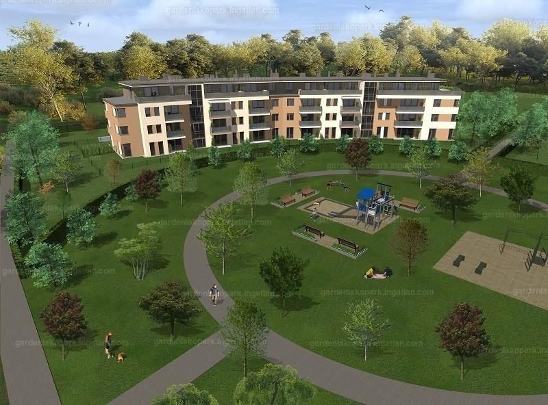 Garden Lakópark - 5 szoba erkéllyel