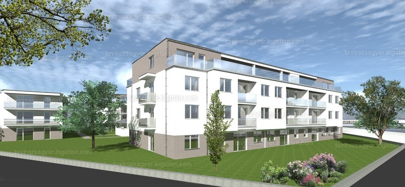 Tavirózsa Lakópark V. ütem - 3 szoba erkéllyel