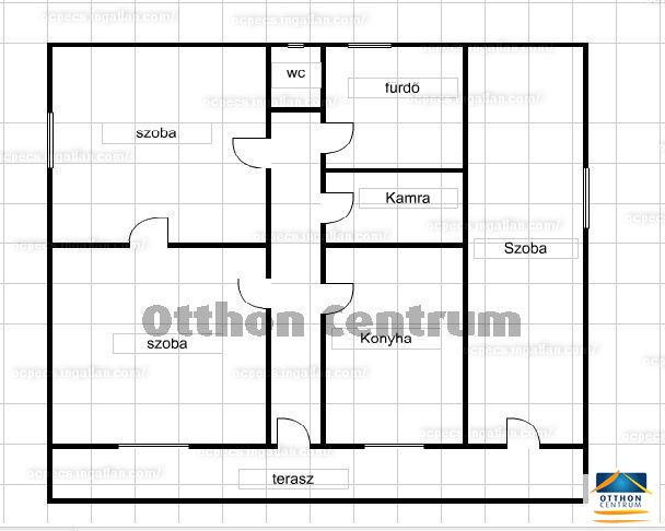 Ingatlan, eladó ház, Kásád, Baranya , 95 m2