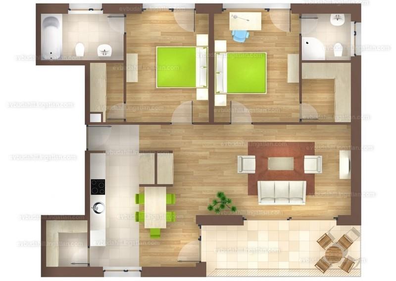 E&V Budahill - 4 szoba erkéllyel