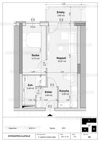 Dudi's Dream Lakópark 2.ütem - 2 szoba erkéllyel
