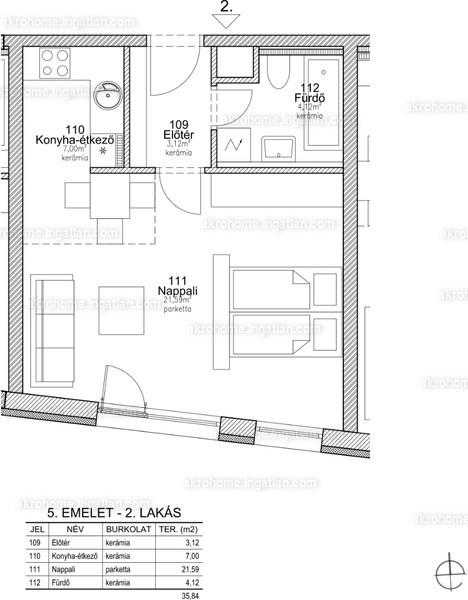 BRSS106 - 1 szoba