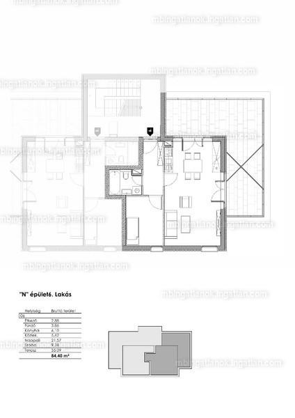 Gergely Garden - 2 szoba erkéllyel