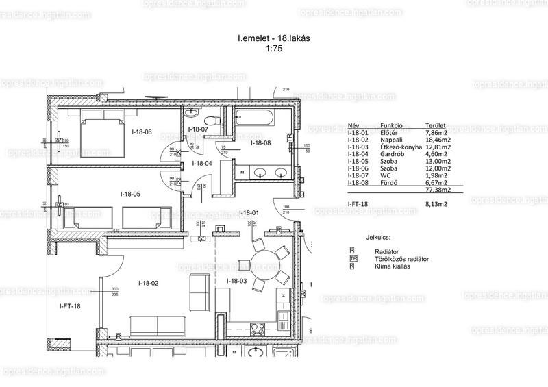 Top Residence Lakópark Veszprém - 3 szoba erkéllyel