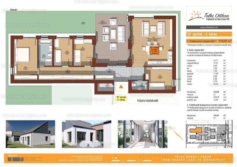 Telki otthonok - 3 + 1 szoba