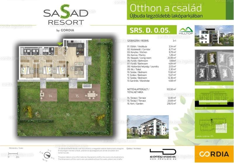 Sasad Resort Hilltop by Cordia - 4 szoba kertkapcsolattal
