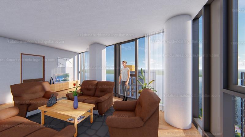 Kék-Duna Rezidencia - 4 szoba erkéllyel
