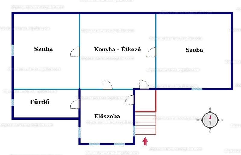 Ingatlan, eladó ház, Boda, Petőfi Sándor utca, 82 m2