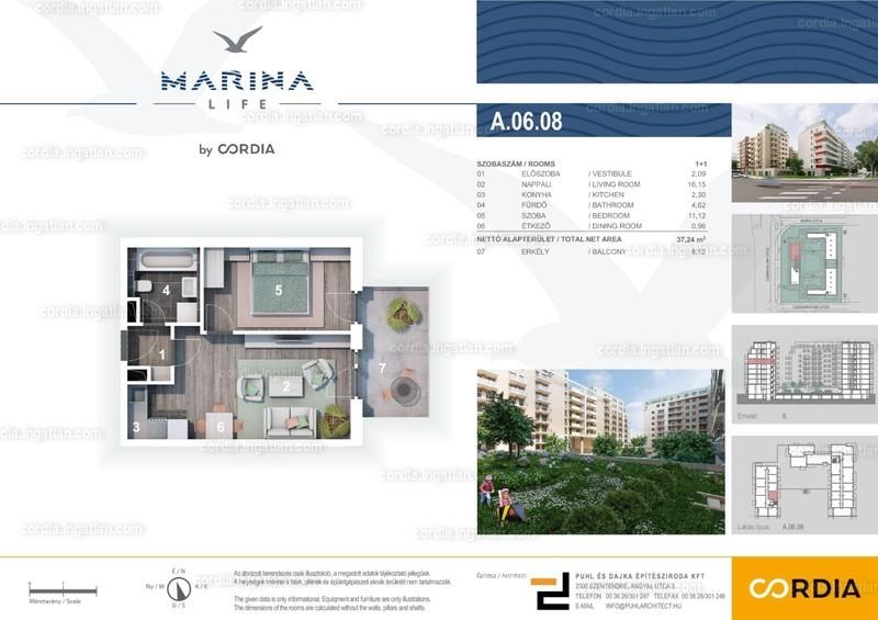 Marina Life by Cordia - 2 szoba erkéllyel