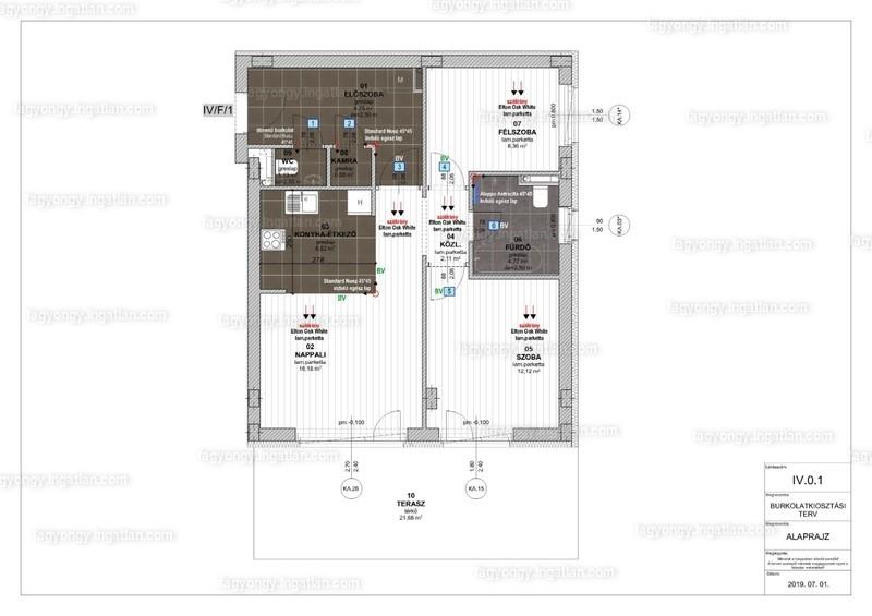Fagyöngy Lakópark - 3 szoba kertkapcsolattal