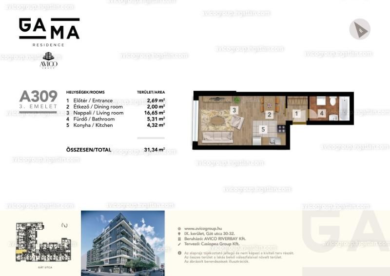 GAMA Residence - 1 szoba