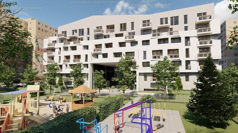 Zr2 Residence - 2 szoba erkéllyel