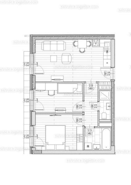 Szív utca - 2 + 1 szoba