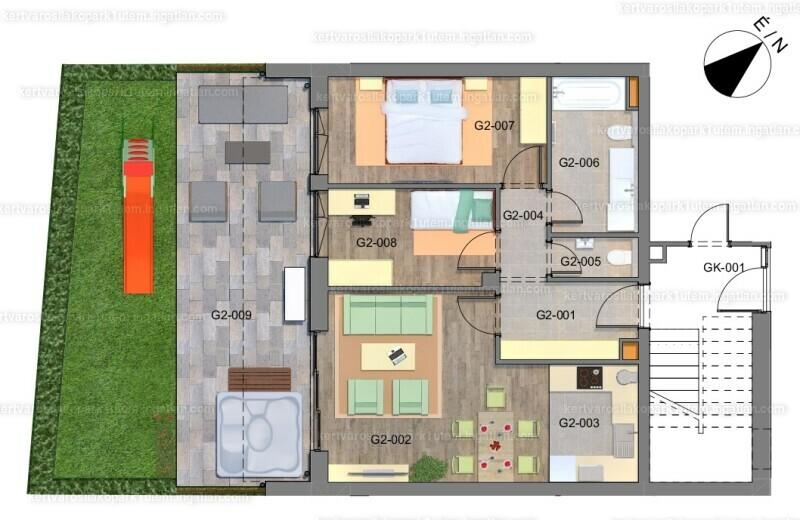 Kertvárosi Lakópark I. ütem - 3 szoba kertkapcsolattal