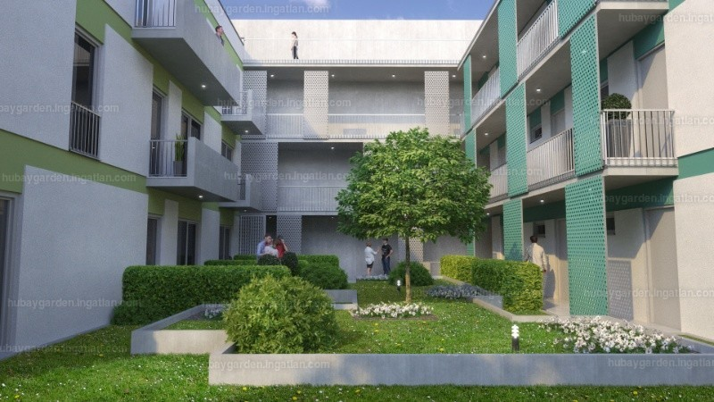 Hubay Garden - 1 szoba erkéllyel
