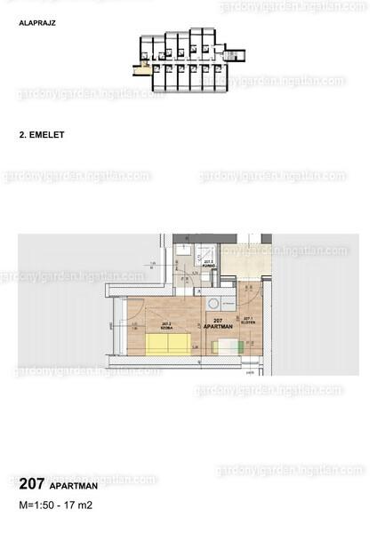 Gárdonyi Garden - 1 szoba