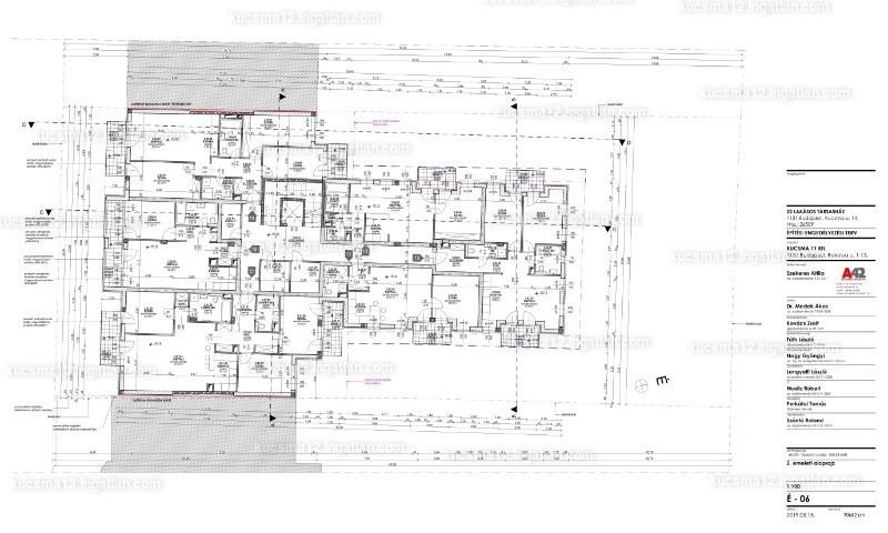 Kucsma 14. Társasház - 2 szoba erkéllyel
