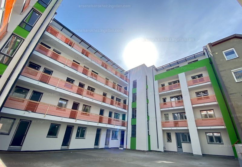 Arsenal Sarokház - 3 szoba erkéllyel