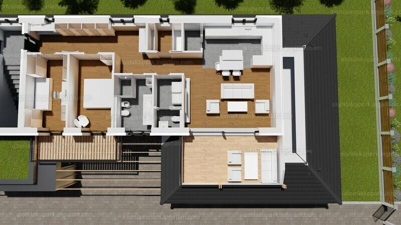 Álom Lakópark - 3 szoba kertkapcsolattal