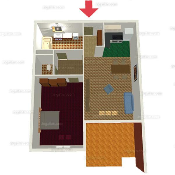 Semiramis Garden - 2 szoba erkéllyel