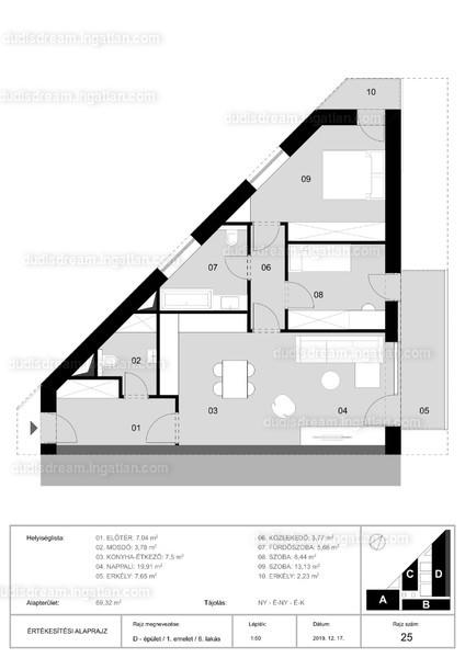 Dudi's Dream Lakópark - 4 szoba erkéllyel