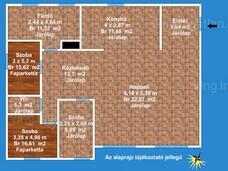 Kifogástalan állapotú lakás a Sik Sándor utcában