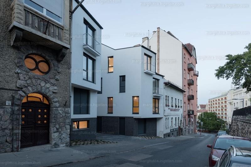 Margit utca 9 társasház - 3 szoba erkéllyel
