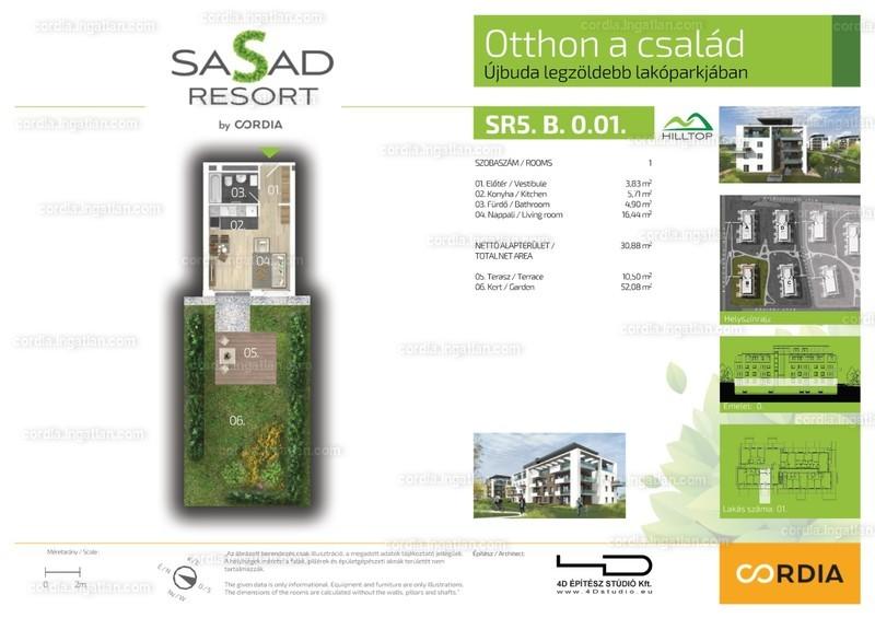 Sasad Resort Hilltop by Cordia - 1 szoba erkéllyel