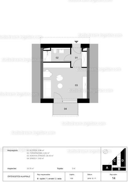 Dudi's Dream Lakópark - 1 szoba erkéllyel