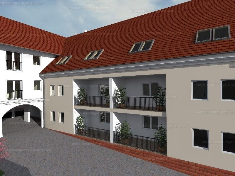 Várpanoráma Társasház - 3 szoba erkéllyel