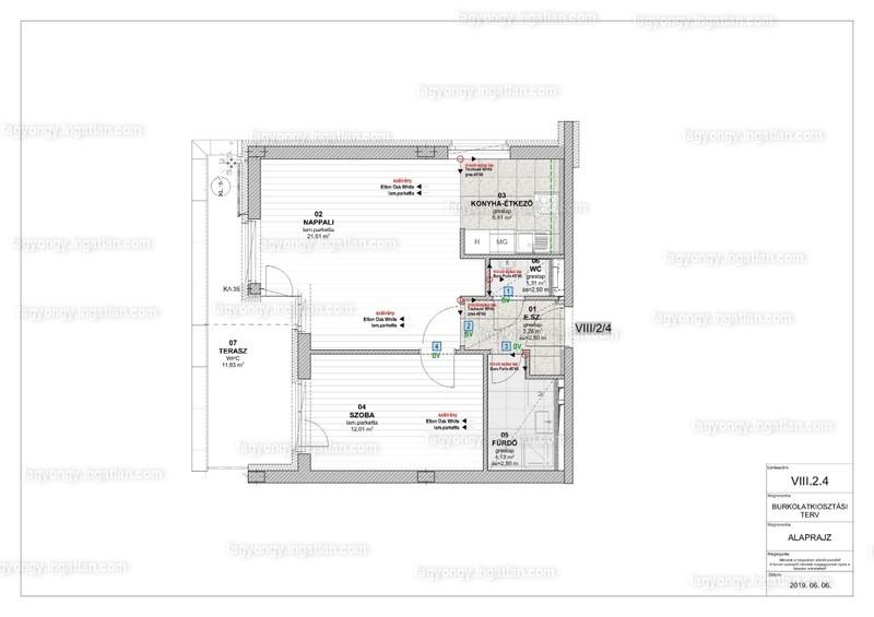 Fagyöngy Lakópark - 2 szoba erkéllyel