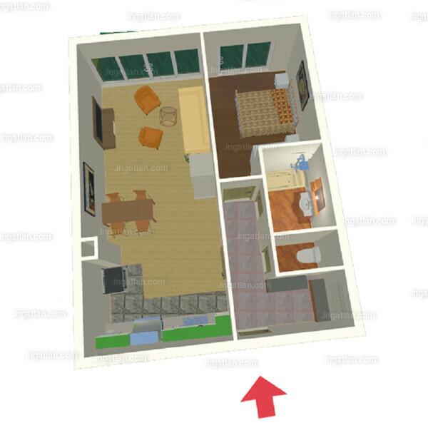 Semiramis Garden - 2 szoba kertkapcsolattal