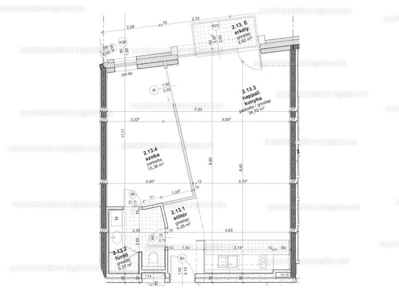 Sunshine Residence Hévíz - 2 szoba erkéllyel