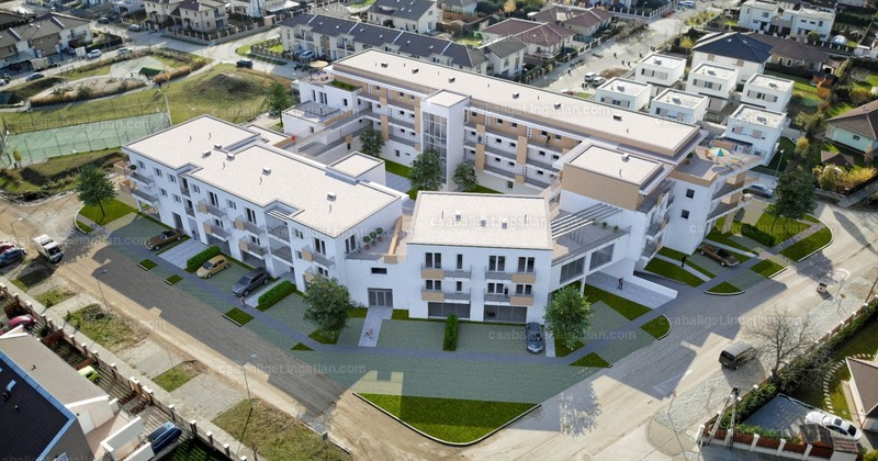 Csabaliget Center és Apartmanház - 4 szoba erkéllyel