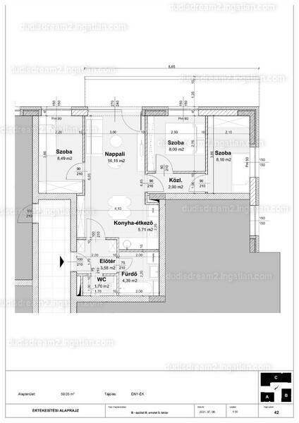 Dudi's Dream Lakópark 2.ütem - 4 szoba erkéllyel