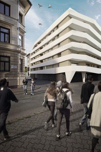 BB Házak - 1 + 1 szoba erkéllyel