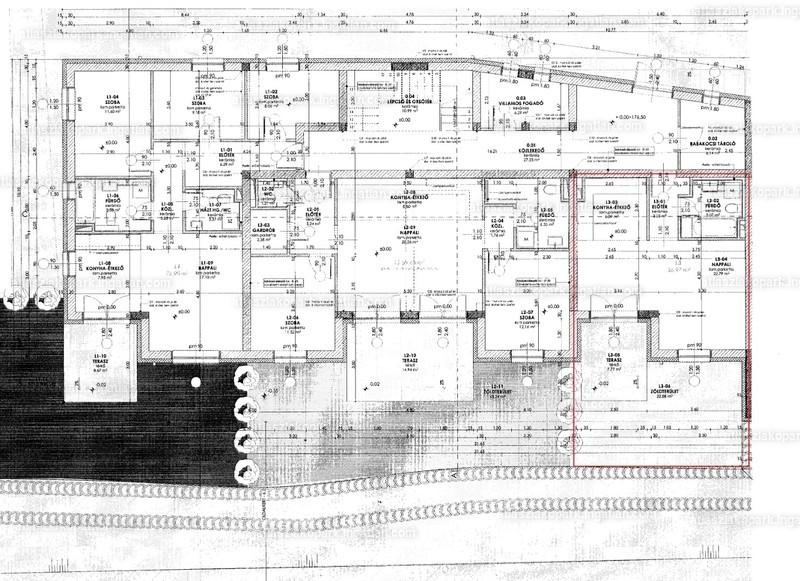 Atlasz Lakópark - 1 szoba kertkapcsolattal