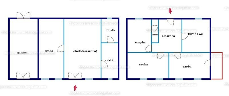 Ingatlan, eladó ház, Pécs, Tiborc utca, 90 m2