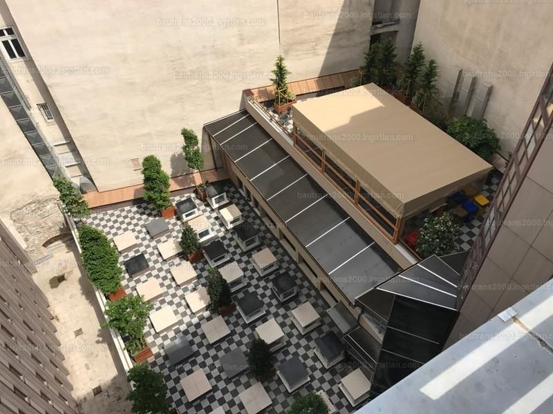 tetőterasz