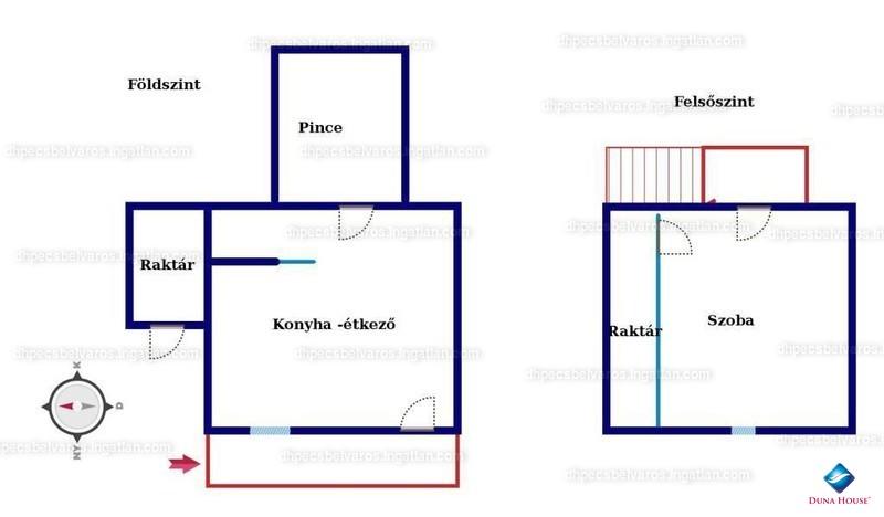 Ingatlan, eladó ház, Gyód, Baranya , 30 m2