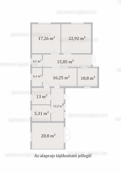 Ingatlan, eladó ház, Kisszállás, Bács-Kiskun , 108 m2