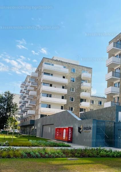 Kassák Residence - 2 + 3 szoba erkéllyel