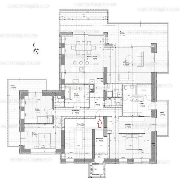 Normafa 14 - 4 szoba erkéllyel