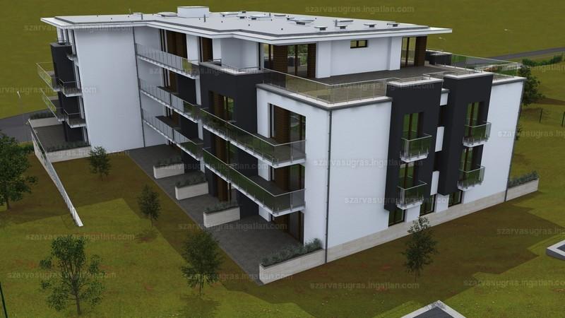 Szarvasugrás Lakópark - 2 szoba erkéllyel